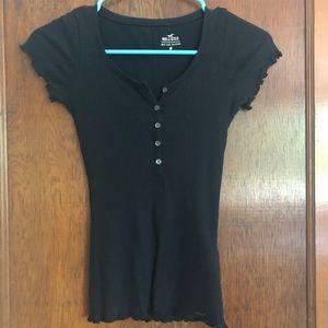 Hollister black T-shirt